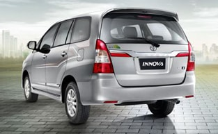 hire innova on rent